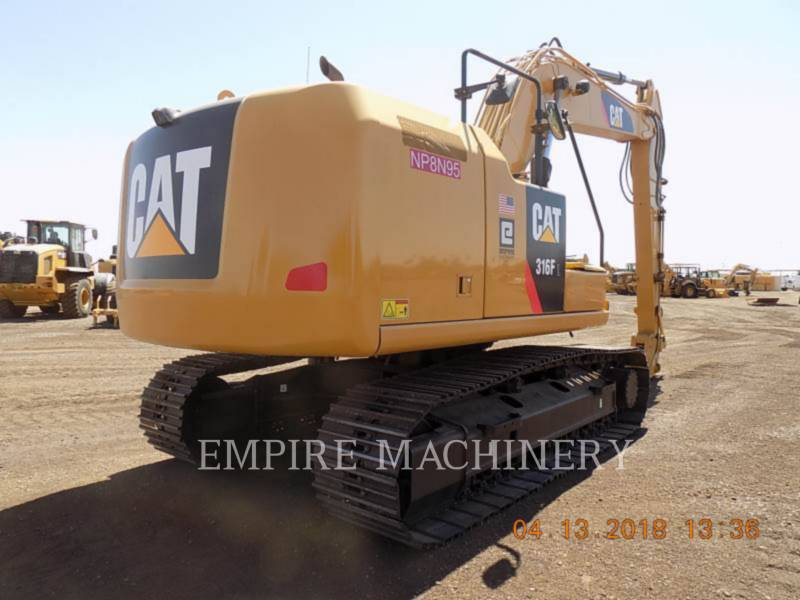 CATERPILLAR PELLES SUR CHAINES 316FL equipment  photo 2