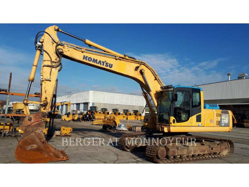 KOMATSU PELLES SUR CHAINES PC210LC6 equipment  photo 1