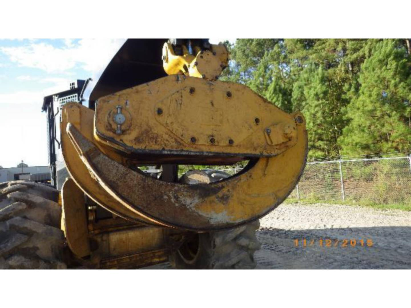 Used 2015 caterpillar 525d for sale whayne cat