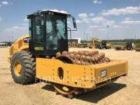 CATERPILLAR EINZELVIBRATIONSWALZE, BANDAGE CP74B equipment  photo 1