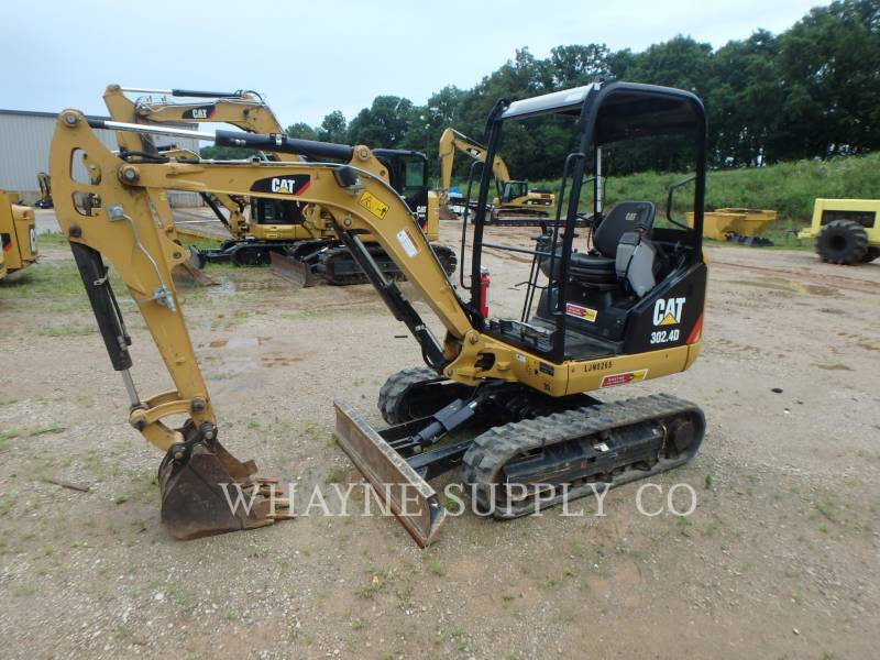CATERPILLAR 履带式挖掘机 302.4D equipment  photo 1