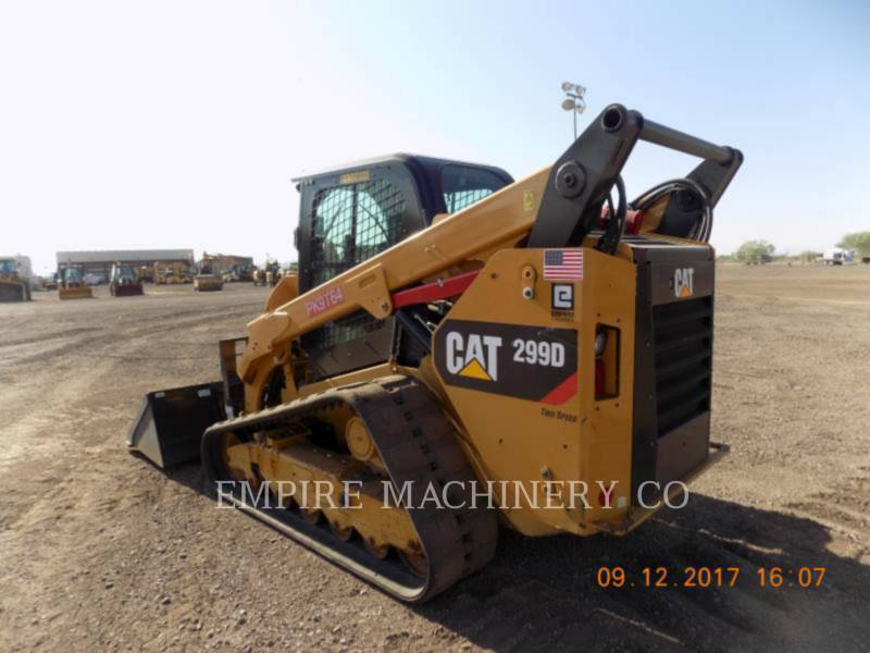 CATERPILLAR CHARGEURS COMPACTS RIGIDES 299D CA equipment  photo 3