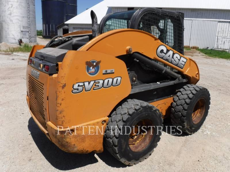CASE CHARGEURS COMPACTS RIGIDES SV300 equipment  photo 4