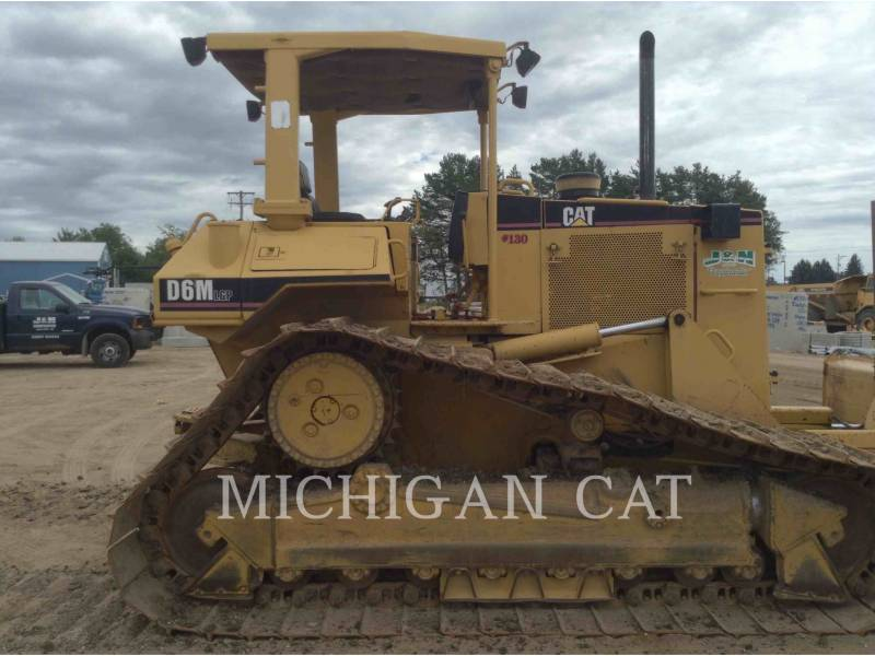 CATERPILLAR TRACK TYPE TRACTORS D6M equipment  photo 16