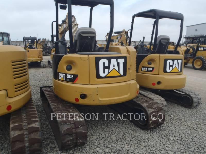 CATERPILLAR TRACK EXCAVATORS 305E CR equipment  photo 3