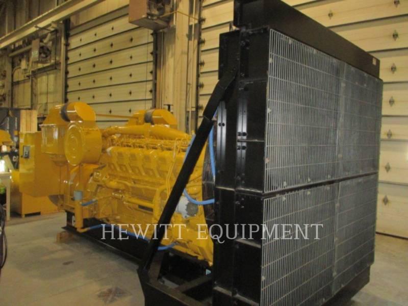 CATERPILLAR STATIONARY GENERATOR SETS 3512, 910KW 600VOLTS equipment  photo 3
