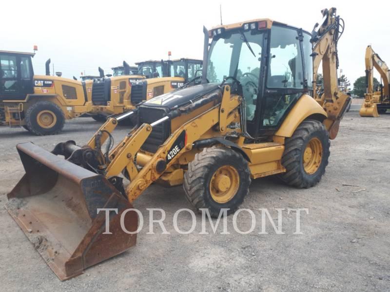 CATERPILLAR BAGGERLADER 420EIT equipment  photo 1