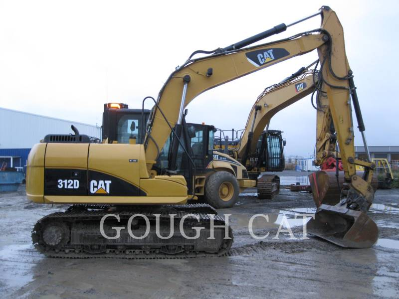 CATERPILLAR KETTEN-HYDRAULIKBAGGER 312D equipment  photo 5