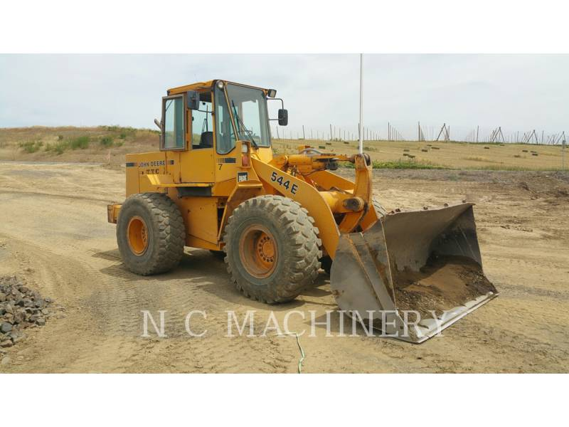 JOHN DEERE RADLADER/INDUSTRIE-RADLADER 544E equipment  photo 2