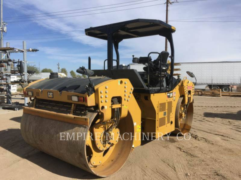 CATERPILLAR ROLO COMPACTADOR DE ASFALTO DUPLO TANDEM CB66B equipment  photo 2