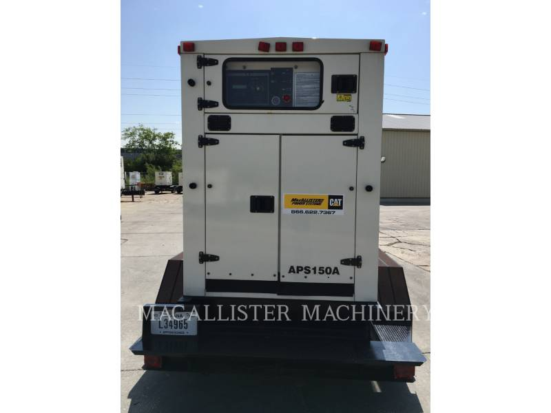 PERKINS PORTABLE GENERATOR SETS APS150 equipment  photo 13