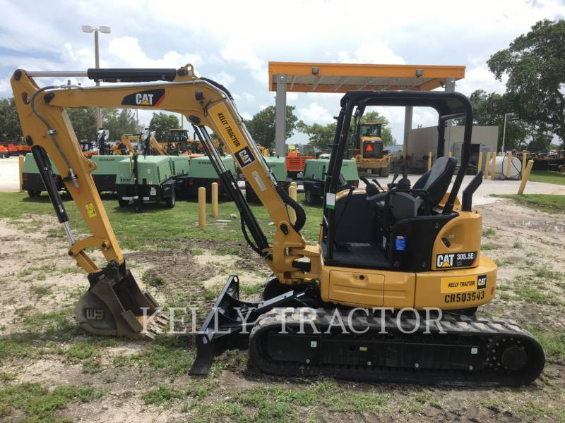 CATERPILLAR TRACK EXCAVATORS 305.5E2 CR equipment  photo 6