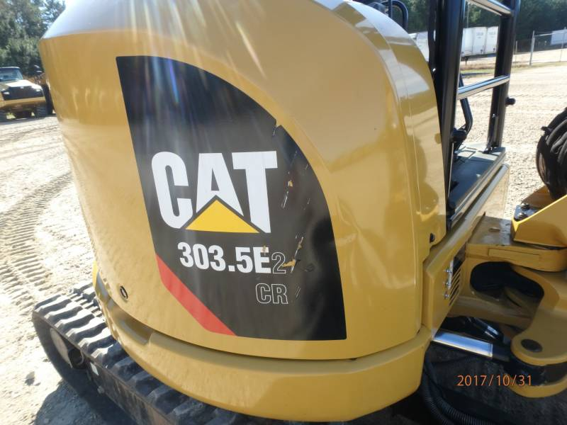 CATERPILLAR KOPARKI GĄSIENICOWE 303.5E2CR equipment  photo 20