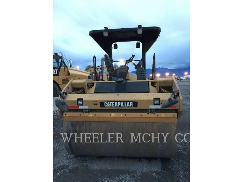 CATERPILLAR TANDEMOWY WALEC WIBRACYJNY DO ASFALTU (STAL-STAL) CB64 equipment  photo 2