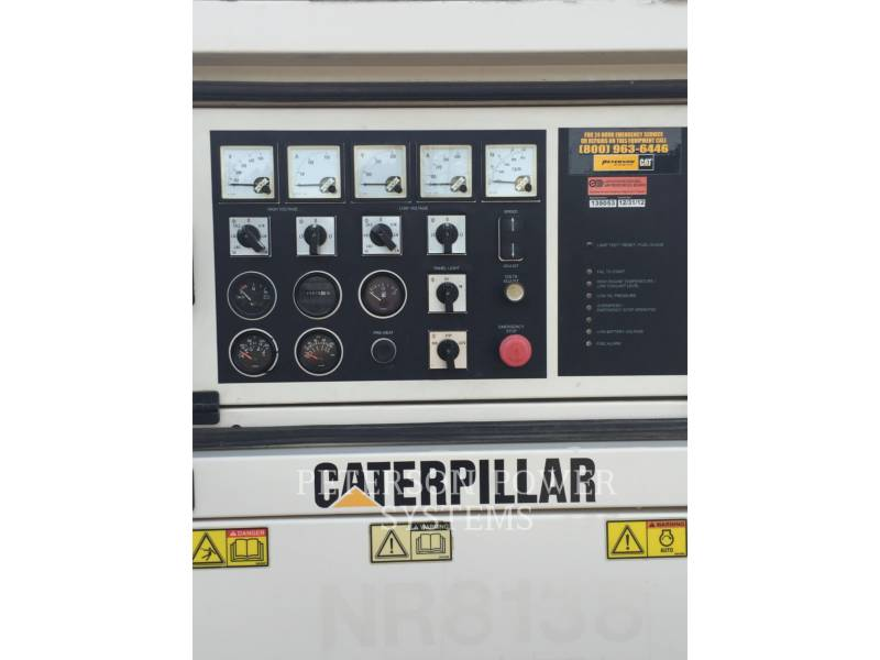 CATERPILLAR PORTABLE GENERATOR SETS XQ80 equipment  photo 4