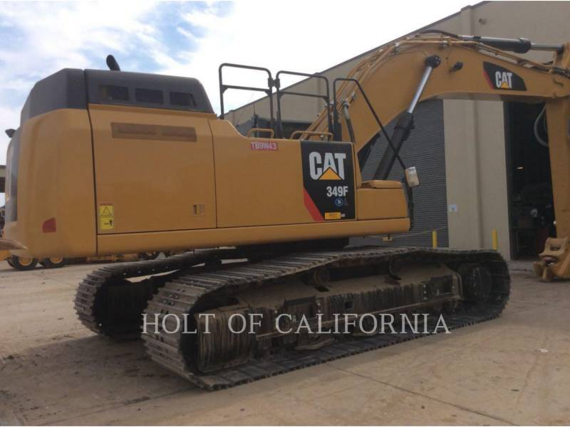 CATERPILLAR TRACK EXCAVATORS 349F equipment  photo 3