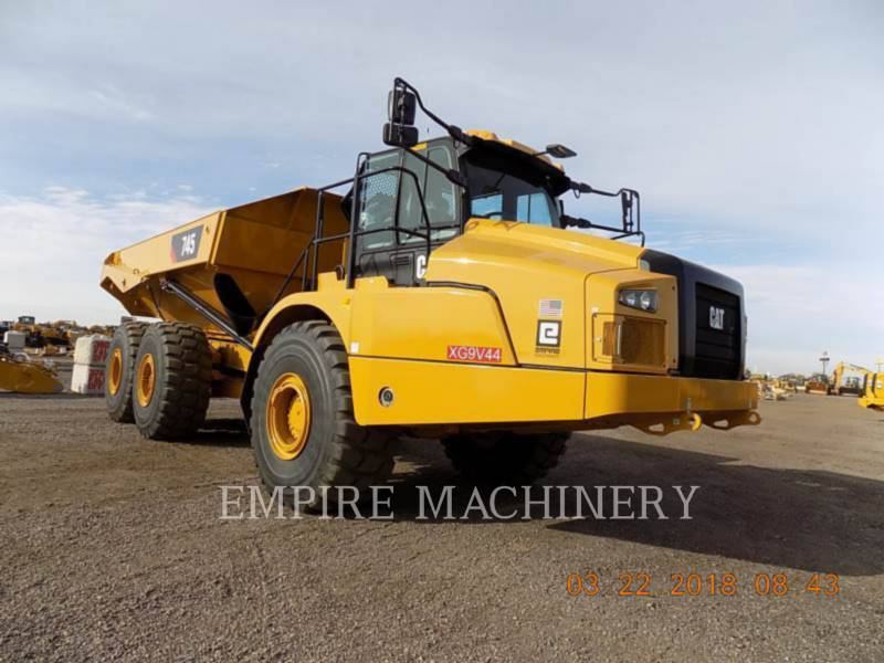 CATERPILLAR KNICKGELENKTE MULDENKIPPER 745-04 equipment  photo 1