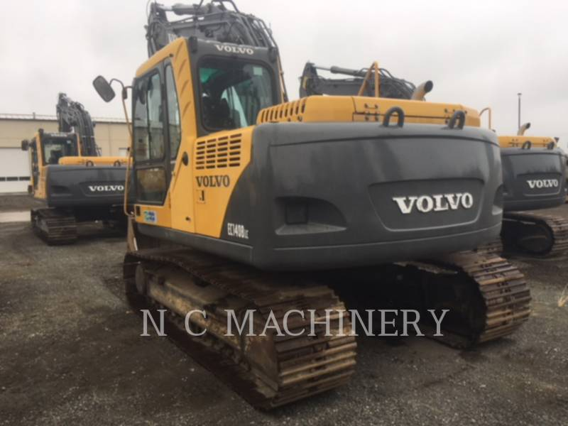 VOLVO CONSTRUCTION EQUIPMENT KETTEN-HYDRAULIKBAGGER EC140BLC equipment  photo 5