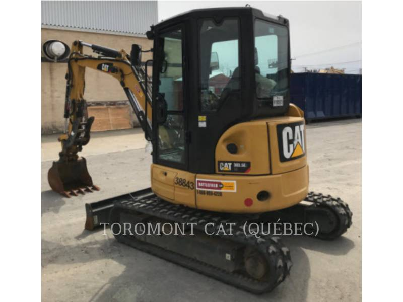 CATERPILLAR TRACK EXCAVATORS 303.5E2 CR equipment  photo 2