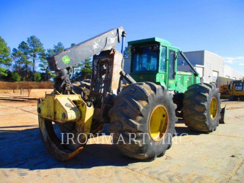 JOHN DEERE FORSTWIRTSCHAFT - HOLZRÜCKER 748H equipment  photo 4