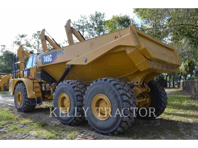 Caterpillar CAMIOANE ARTICULATE 745C equipment  photo 3