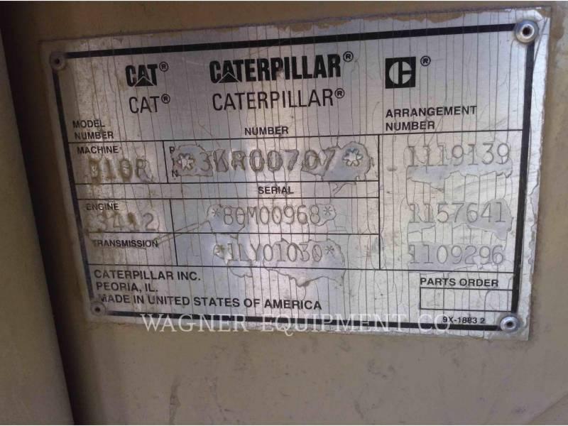 CATERPILLAR TRACTORES DE CADENAS D10R equipment  photo 10