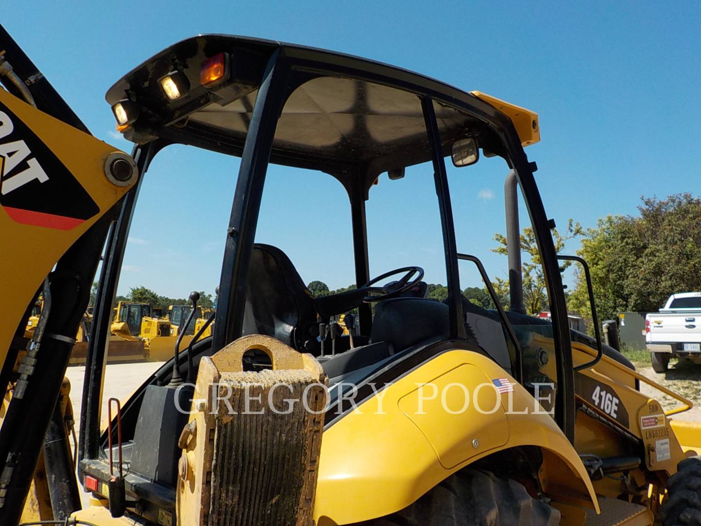 Detail photo of 2012 Caterpillar 416E from Construction Equipment Guide