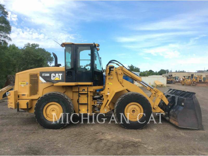 CATERPILLAR CHARGEURS SUR PNEUS/CHARGEURS INDUSTRIELS IT38H 3R equipment  photo 24