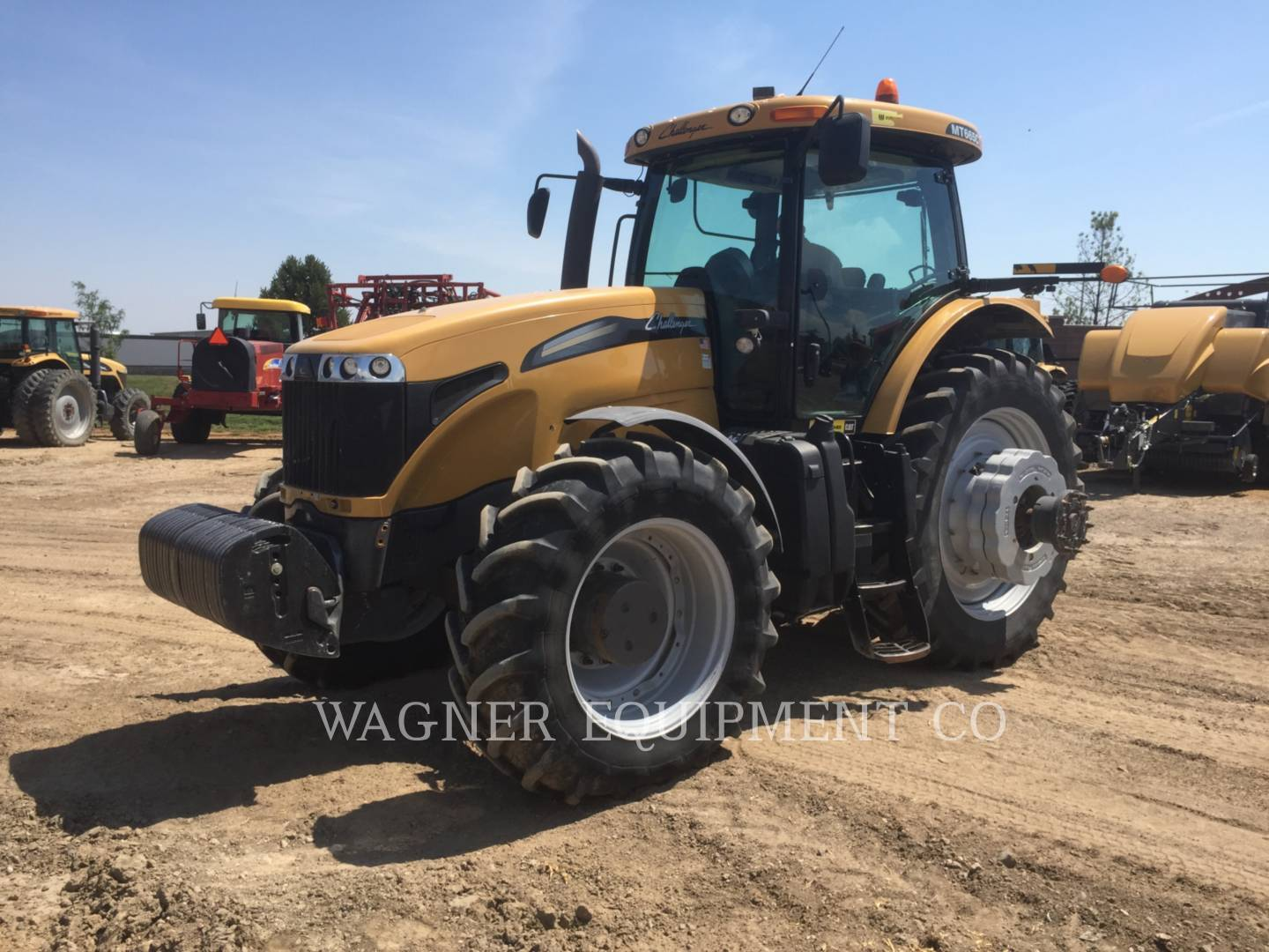Detail photo of 2009 AGCO MT665C-4C from Construction Equipment Guide