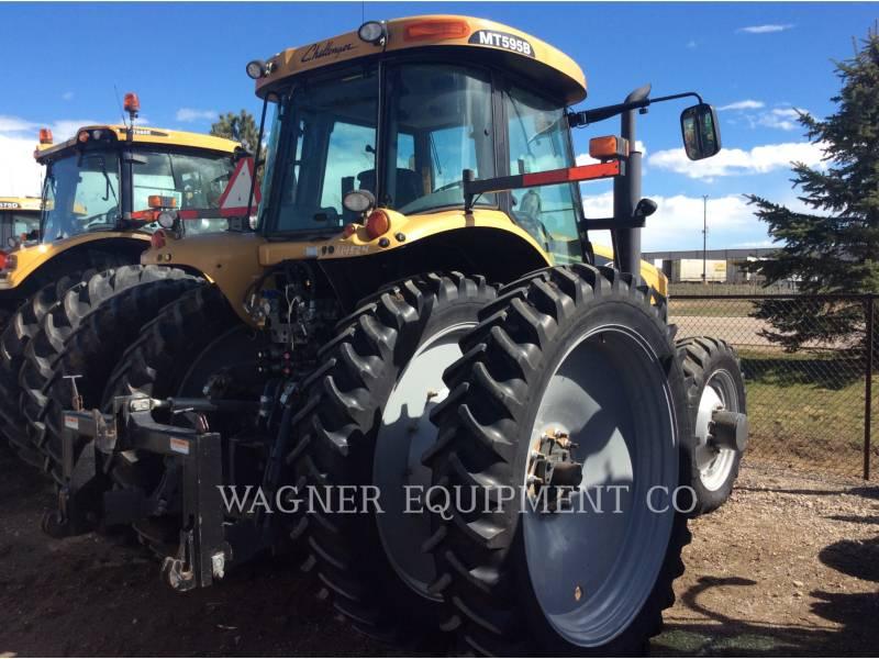 AGCO 農業用トラクタ MT595B-4C equipment  photo 3