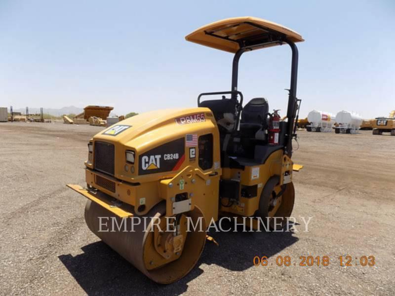CATERPILLAR TANDEMVIBRATIONSWALZE, ASPHALT CB24B equipment  photo 4