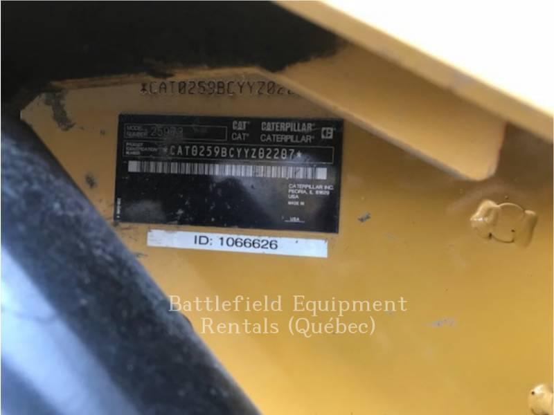 CATERPILLAR CARREGADEIRAS TODO TERRENO 259B3 equipment  photo 8