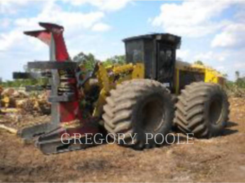 CATERPILLAR FORESTRY - FELLER BUNCHERS - WHEEL 573 equipment  photo 1