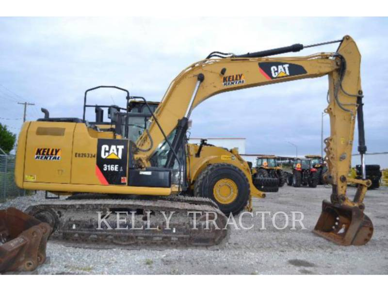 CATERPILLAR KETTEN-HYDRAULIKBAGGER 316EL equipment  photo 3