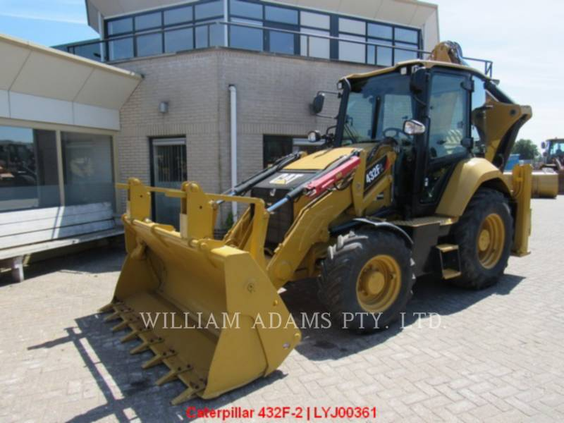 CATERPILLAR BACKHOE LOADERS 432F2LRC equipment  photo 1