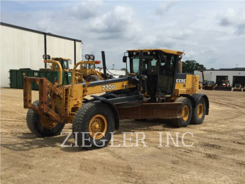 DEERE & CO. MOTORGRADER 770D equipment  photo 1