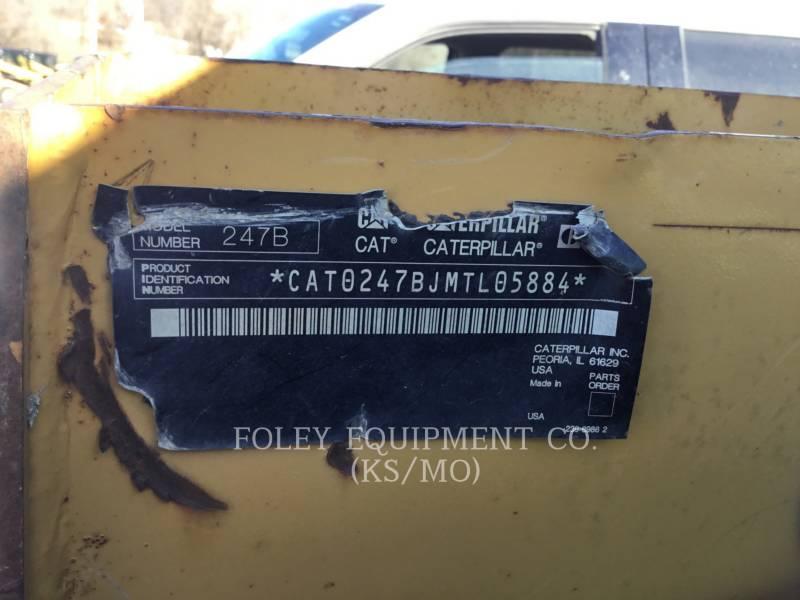 CATERPILLAR SKID STEER LOADERS 247B2STD1C equipment  photo 5