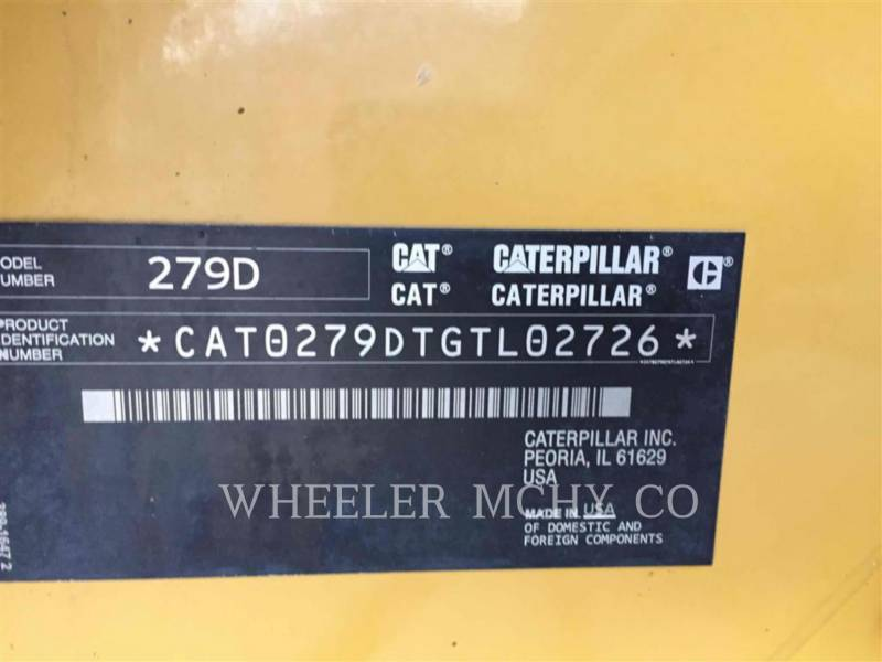 CATERPILLAR UNIWERSALNE ŁADOWARKI 279D C1-H2 equipment  photo 5