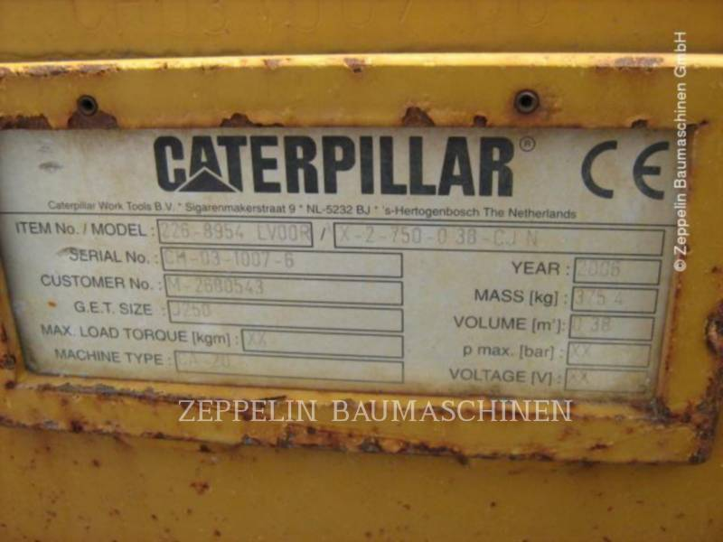 CATERPILLAR MISCELLANEOUS / OTHER EQUIPMENT TL75/CW20 equipment  photo 2