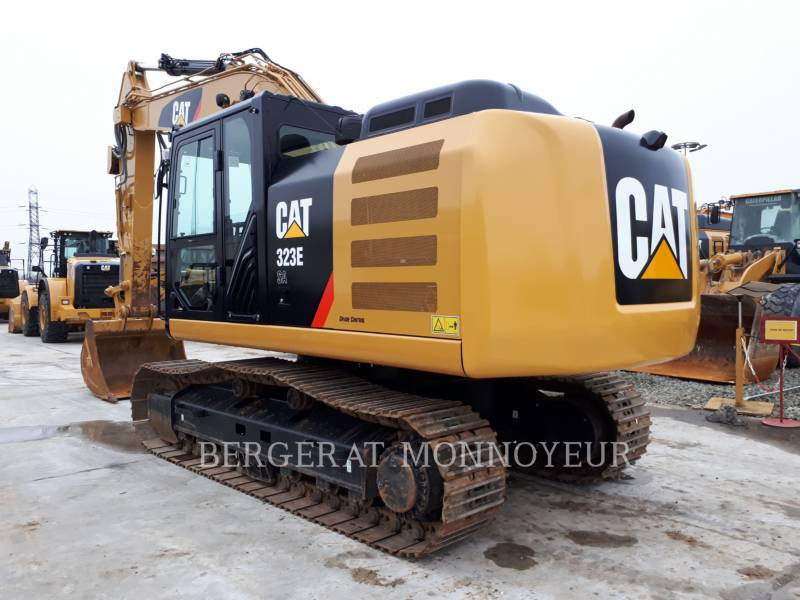 CATERPILLAR KETTEN-HYDRAULIKBAGGER 323E equipment  photo 4