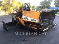 Equipment photo LEE-BOY 8500B ASPHALT PAVERS 1