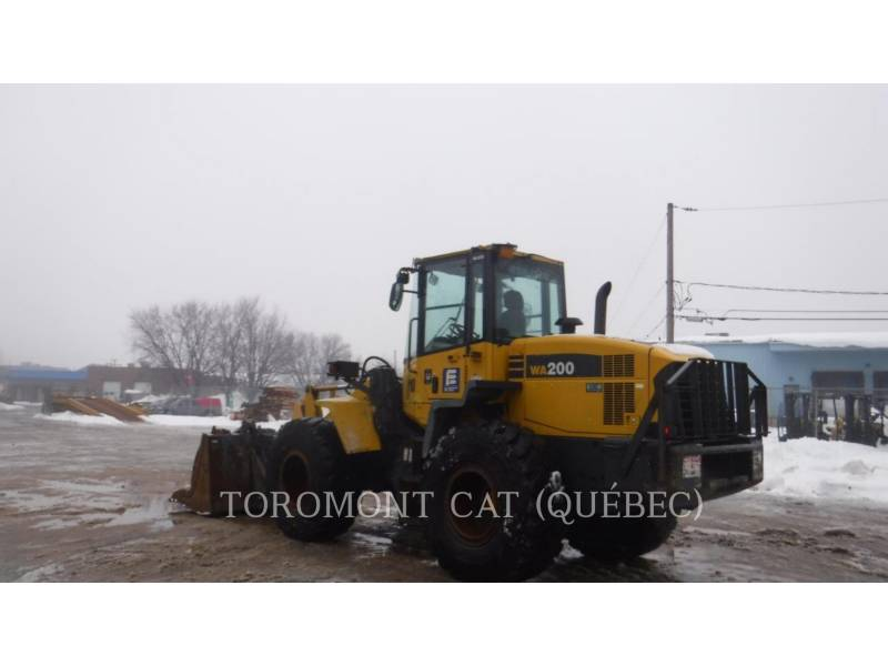 KOMATSU CANADA RADLADER/INDUSTRIE-RADLADER WA200 equipment  photo 3