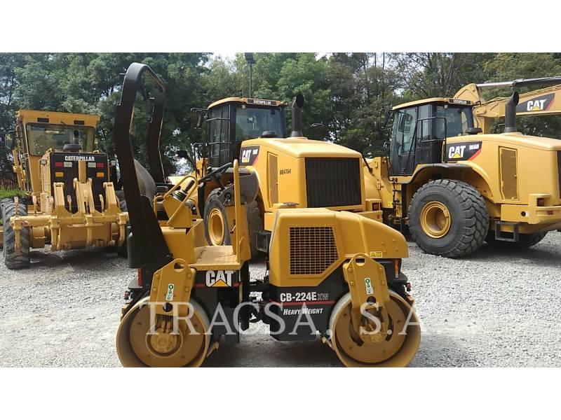 CATERPILLAR ROLO COMPACTADOR DE ASFALTO DUPLO TANDEM CB-224E equipment  photo 3
