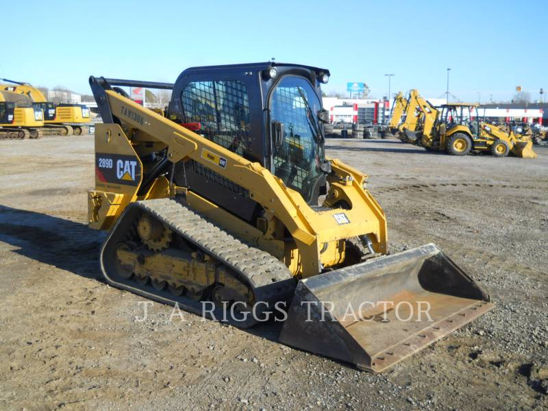 CATERPILLAR CHARGEURS TOUT TERRAIN 289D AH equipment  photo 2