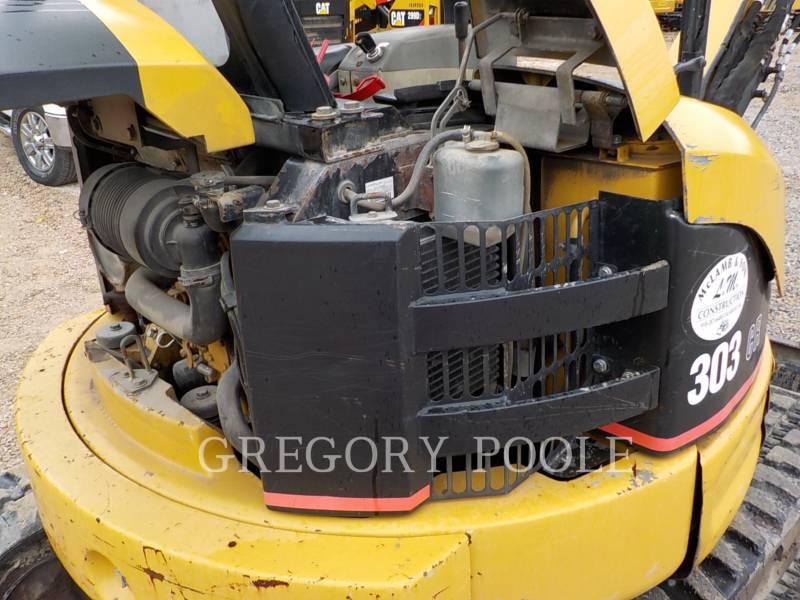 CATERPILLAR TRACK EXCAVATORS 303 CR equipment  photo 15