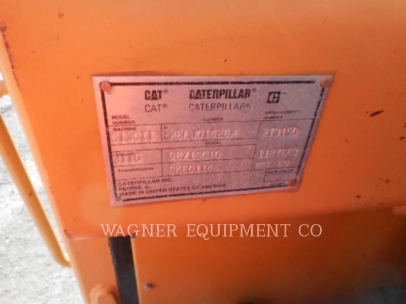 CATERPILLAR ホイール・トラクタ・スクレーパ 613C II equipment  photo 2