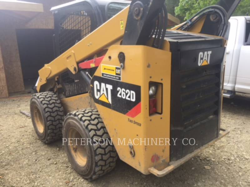 CATERPILLAR CHARGEURS COMPACTS RIGIDES 262D equipment  photo 3