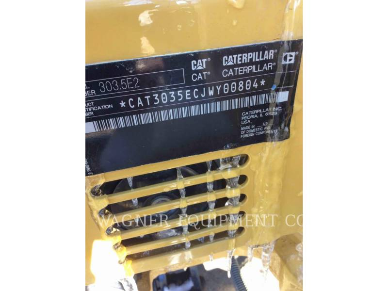 CATERPILLAR 履带式挖掘机 303.5E2CR equipment  photo 5