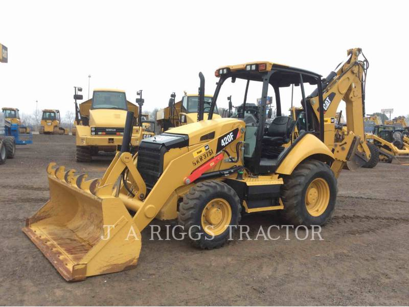 CATERPILLAR CHARGEUSES-PELLETEUSES 420F 4E equipment  photo 1