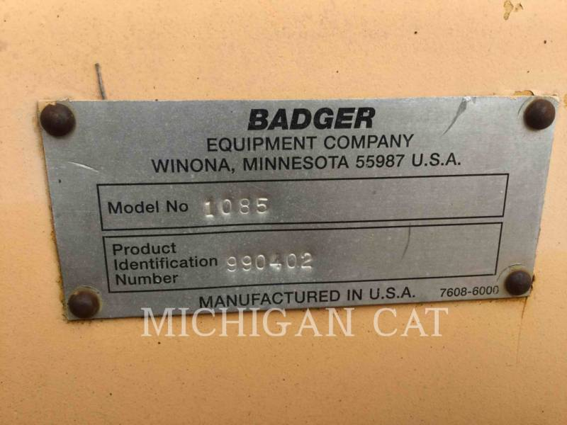 CASE ESCAVATORI GOMMATI 1085 BADGER equipment  photo 23